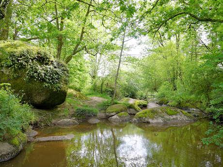 Jardin des Chirons - Rocher Branlant
