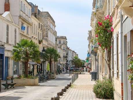 Parcours découverte du centre ville de Rochefort 5 km - 1h30