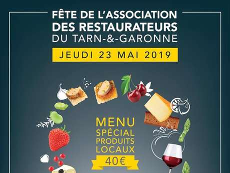 Fête de l'association des restaurateurs du Tarn-et-Garonne