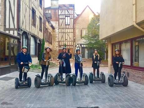 Balade en Segway Mobilboard Troyes Ora Aventure
