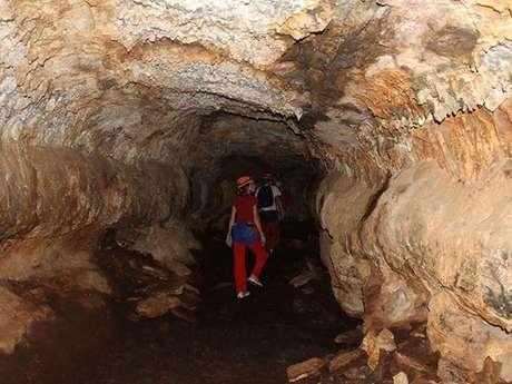 Zarlor Tunnel de lave Bassin Bleu
