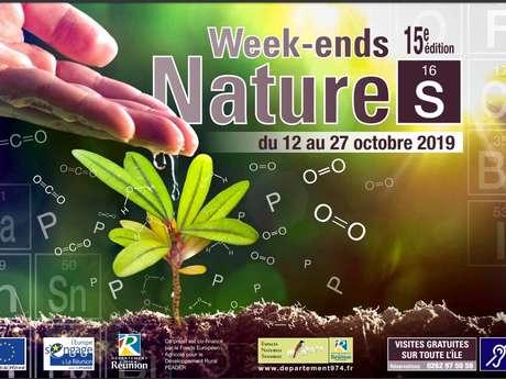 15ème édition des Week-Ends Nature