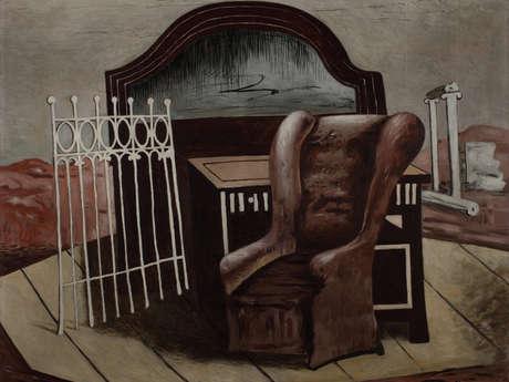Giorgio de Chirico. Aux origines du surréalisme belge : Magritte, Delvaux, Graverol - Meet a mediator in the room