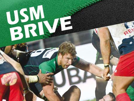 USM - BRIVE / match de rugby
