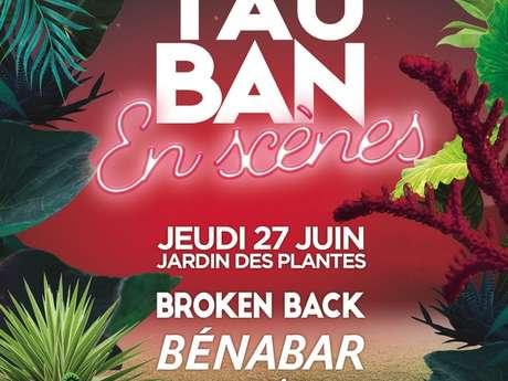Broken Back / Bénabar / Dadju / Festival Montauban en Scènes