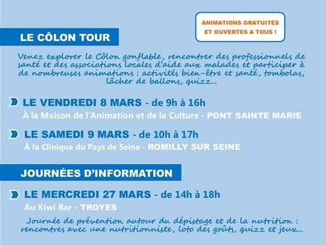 Mars Bleu - Journée d'information