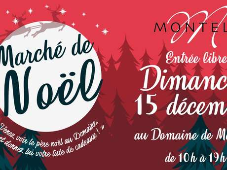 Christmas market at Domaine de Montels