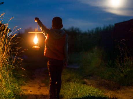 Clair de lune sur les terrils du Pays à Part