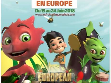 La fête des fruits et légumes frais en Europe
