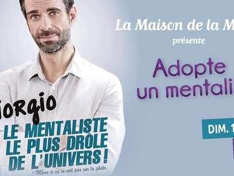 """Spectacle de magie de Giorgio """"Adopte un mentaliste"""""""
