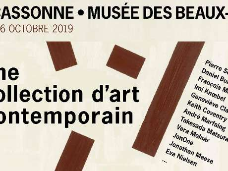EXPO - UNE COLLECTION D'ART CONTEMPORAIN