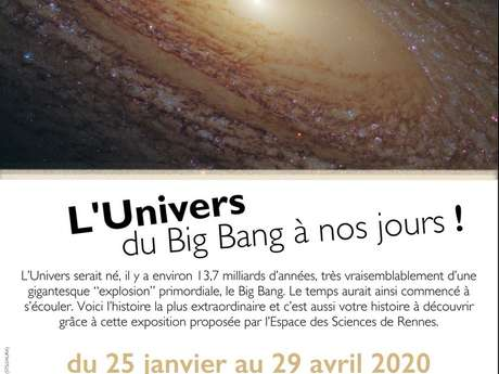 """Exposition - """"L'Univers du Big Bang à nos jours !"""""""