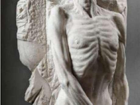 Présentation de l'effigie funéraire de Catherine de Médicis