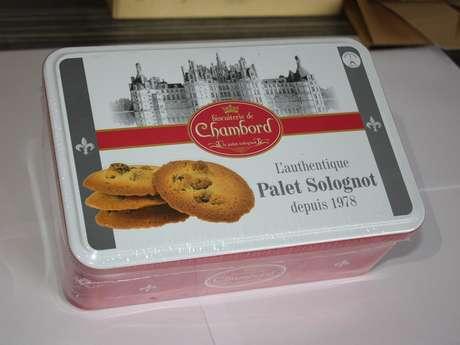 Biscuiterie de Chambord - Le Palet Solognot