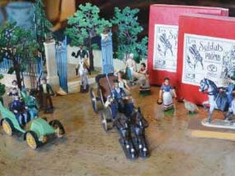 Exposition Soldats et figurines en plomb racontent l'Histoire