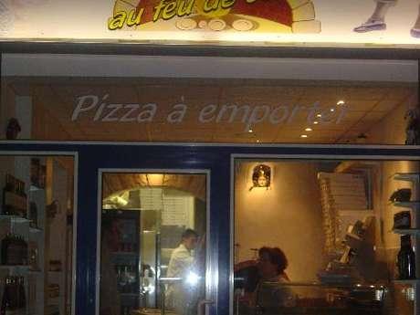 Pizza Antonio au feu de bois