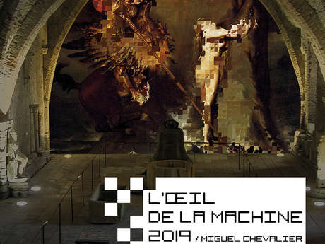 L'œil de la machine 2019 / Miguel Chevalier