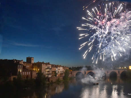 14 de julio fuegos artificiales