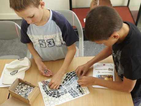 """Les Ateliers pour enfant """"L'Art de la Mosaïque"""""""