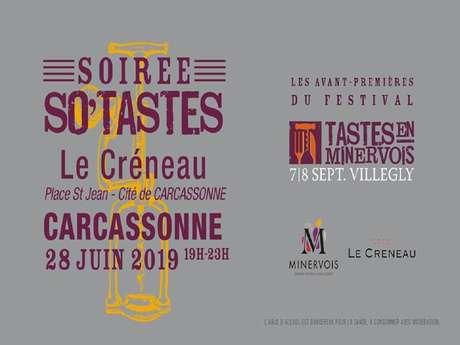 """Soirée """"So Tastes"""" Le Créneau"""
