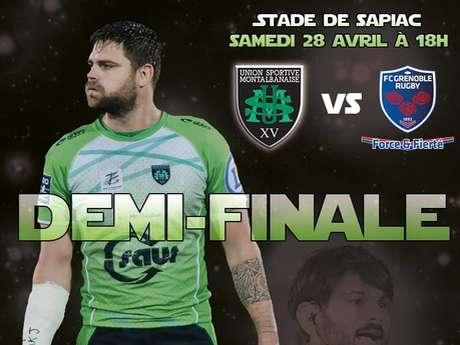 Demi-finale Pro D2 USM-Grenoble