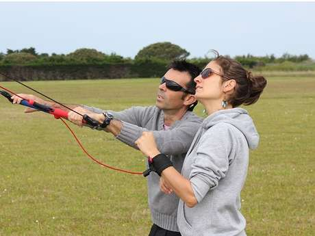 COURS DE CERF-VOLANT DE TRACTION : POWER KITE
