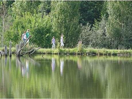 Sentier des étangs de PESCALIS