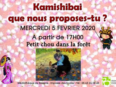 Kamishibaï : petit chou dans la forêt
