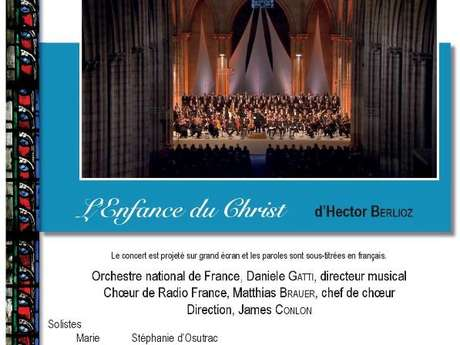 Projection : L'Enfance du Christ, d'Hector Berlioz