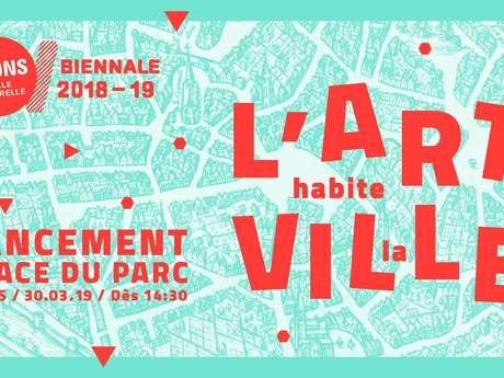 """Lancement de """"L'Art habite la ville"""""""