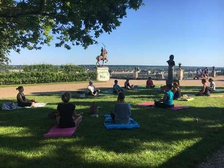 Yoga au Jardin de l'Evêché