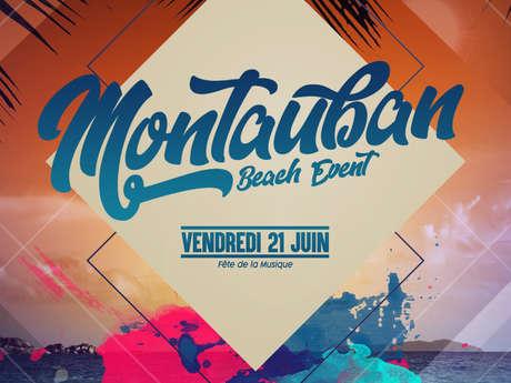 Montauban beach event