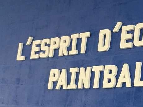 L'esprit d'équipe Paint Ball