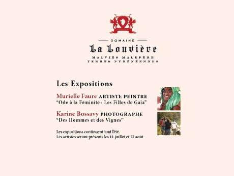 EXPOS AU DOMAINE DE LA LOUVIÈRE