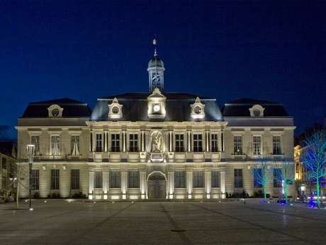 Flânerie nocturne - Troyes fête la Lumière