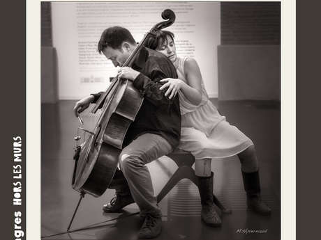 """Compagnie Danse des Signes - Anabela and the cello around the exhibition """"Muses, Music, Museum"""""""