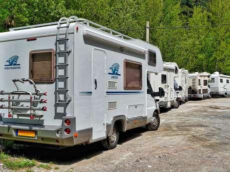 Reception area (campsite)