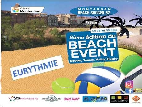 8ème édition du beach soccer event
