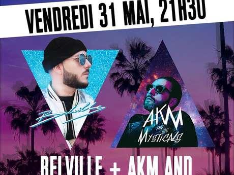 "Concert ""Belville + AKM and the Mysticals"" au Tandem"