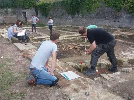 Visites du chantier archéologique de l'Arsenal