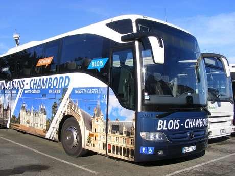 Navette Blois > Chambord > Villesavin > Cheverny > Beauregard