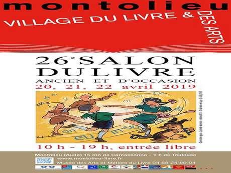 le 26e Salon du livre ancien et d'occasion  les 20,21 et 22 avril
