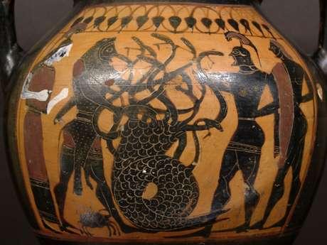 Atelier fresque romaine : les 12 travaux d'Hercule