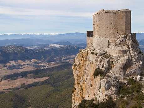 Excursion en minibus- Quéribus et Peyrepertuse - Les citadelles du Vertige
