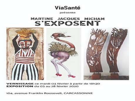 MARTINE JACQUES MICHAM EXPOSENT