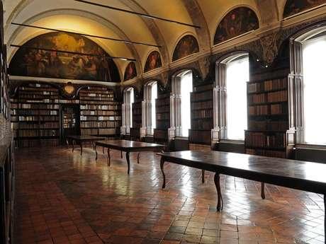 Visite bibliothèque des Jésuites