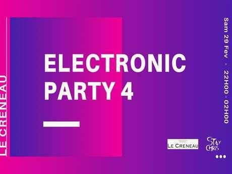 ELECTRONIC PARTY IV - LE CRENEAU