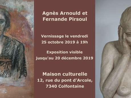 Exposition: Agnès Arnould et Fernande Pirsoul