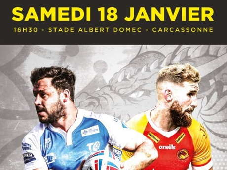 RUGBY - TOULOUSE OLYMPIQUE XIII / DRAGONS CATALANS