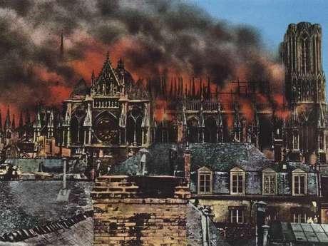Reims la ville martyre